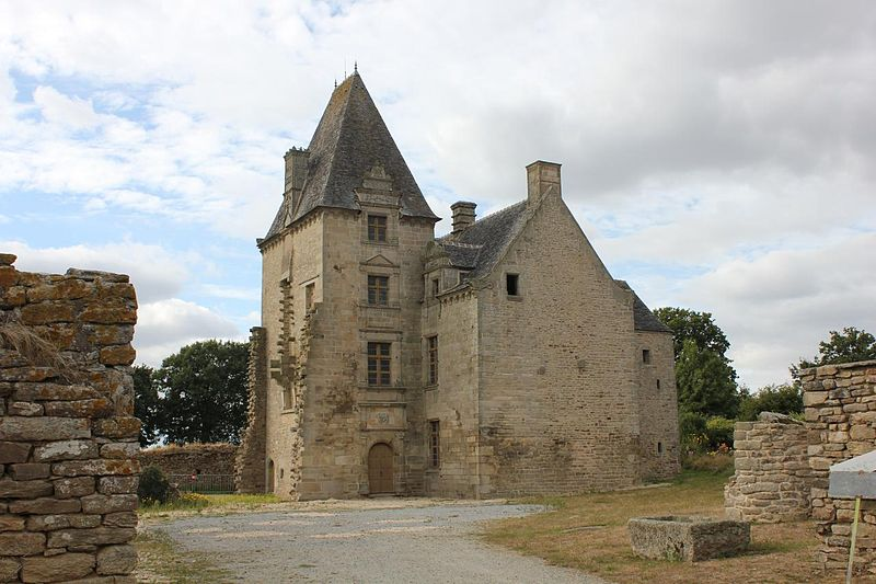 Photo du Monument Historique Manoir de Le May, appelé aussi Le Mée, ou Lemais situé à Guéhenno