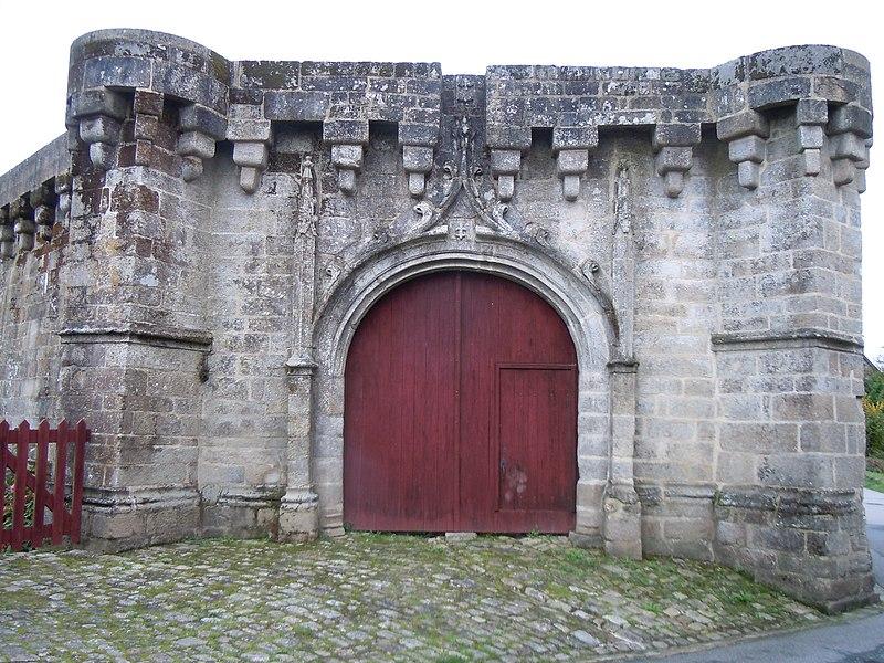 Photo du Monument Historique Château situé à Guémené-sur-Scorff