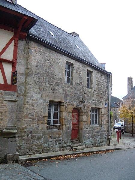 Photo du Monument Historique Maison situé à Guémené-sur-Scorff