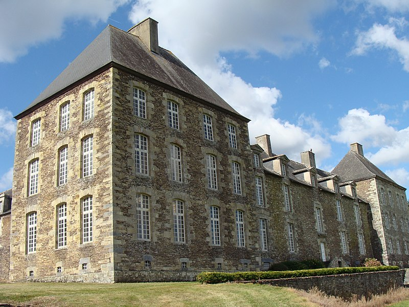Photo du Monument Historique Château de Coëtbo situé à Guer