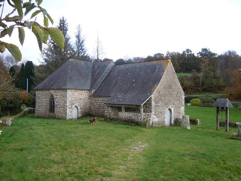 Photo du Monument Historique Chapelle de Locmeltro situé à Guern