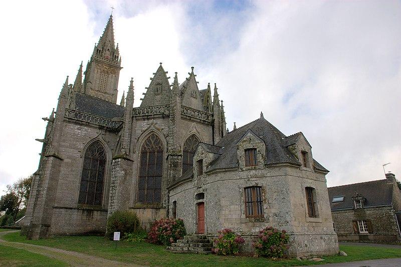 Photo du Monument Historique Eglise Notre-Dame-de-Quelven et abords situé à Guern