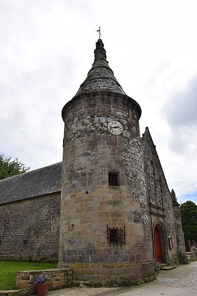 Photo du Monument Historique Eglise Saint-Jean-Baptiste, dite aussi Sainte-Anne situé à Le Guerno