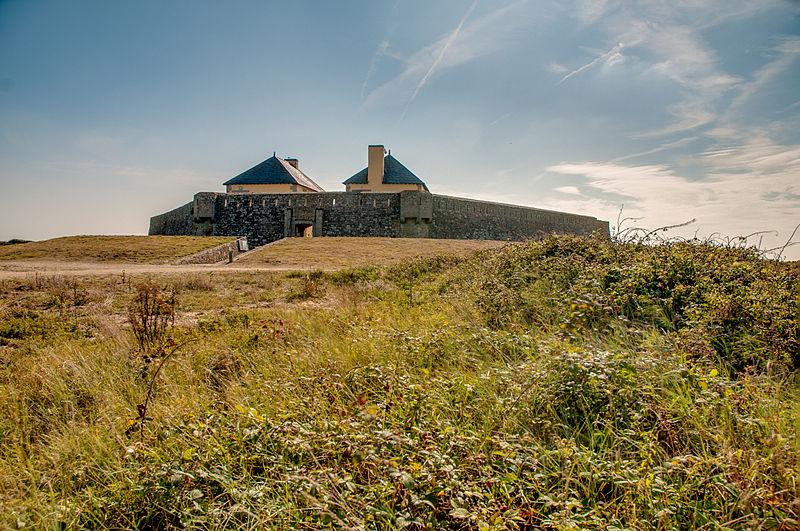 Photo du Monument Historique Restes du Fort du Loch situé à Guidel