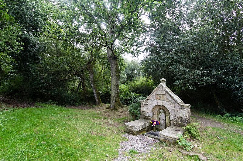 Photo du Monument Historique Fontaine Saint-Bertin situé à Guillac