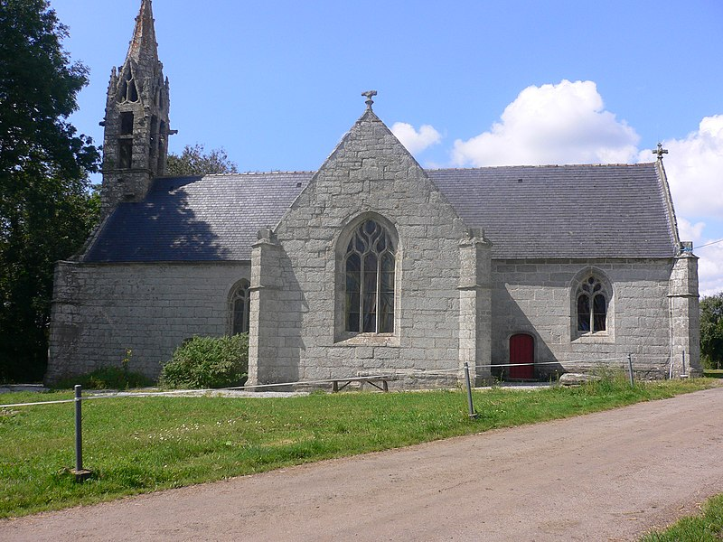 Photo du Monument Historique Chapelle Saint-Antoine situé à Guiscriff
