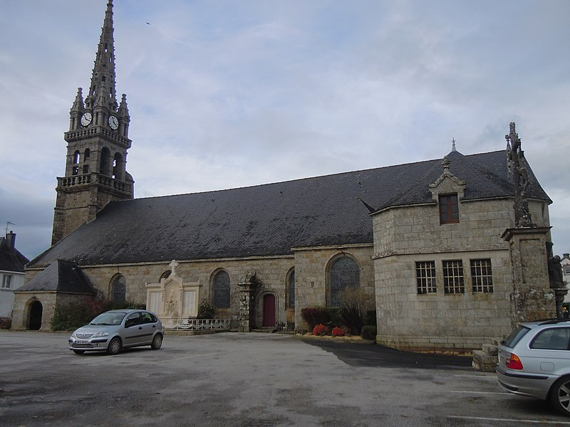 Photo du Monument Historique Eglise Saint-Pierre-Saint-Paul situé à Guiscriff