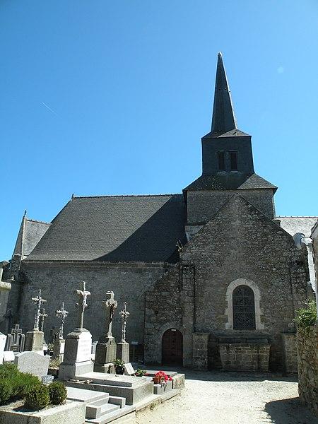 Photo du Monument Historique Eglise de la Nativité ou Notre-Dame situé à Île-d'Arz