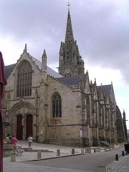Photo du Monument Historique Eglise Notre-Dame-du-Roncier situé à Josselin