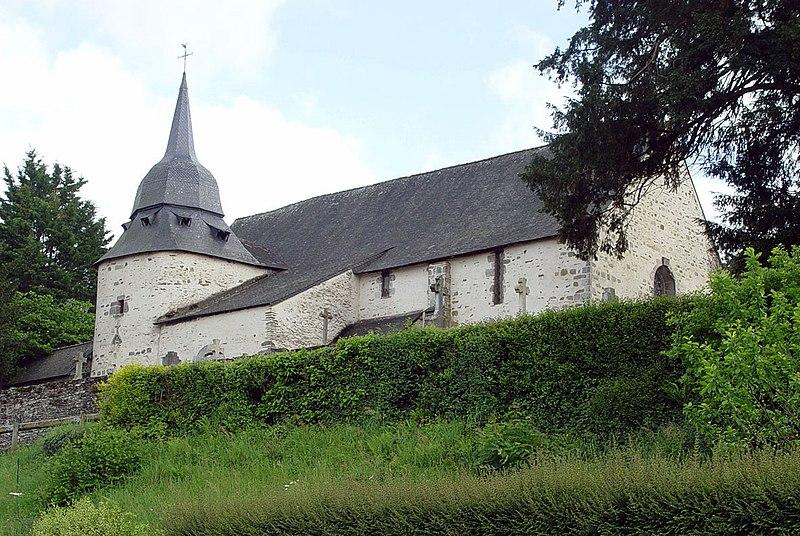 Photo du Monument Historique Eglise Sainte-Croix situé à Josselin