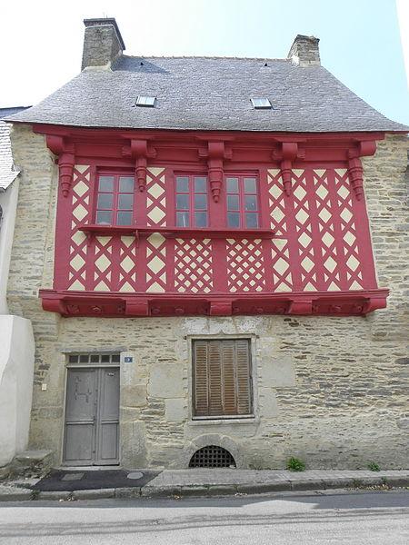 Photo du Monument Historique Immeuble situé à Josselin