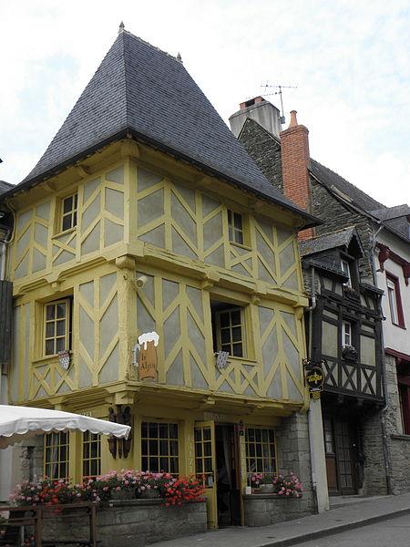Photo du Monument Historique Vieilles maisons situé à Josselin