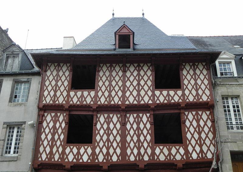 Photo du Monument Historique Maison du 16e siècle, dite Maison Morice situé à Josselin