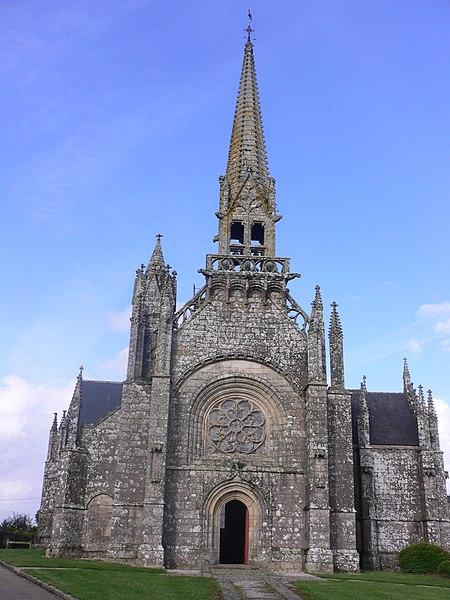 Photo du Monument Historique Eglise ou chapelle Notre-Dame situé à Kernascléden