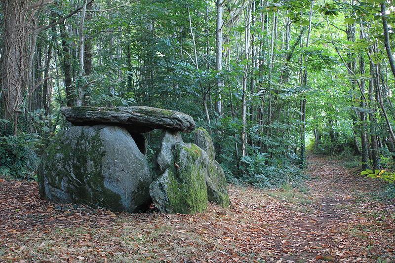 Photo du Monument Historique Chambre dolménique situé à Kervignac