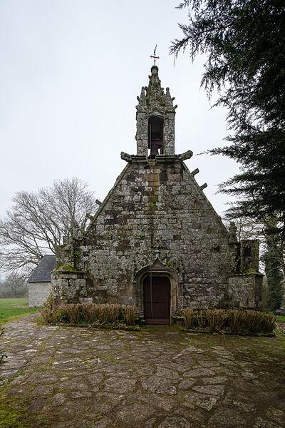 Photo du Monument Historique Chapelle Notre-Dame de la Clarté de Locadour situé à Kervignac