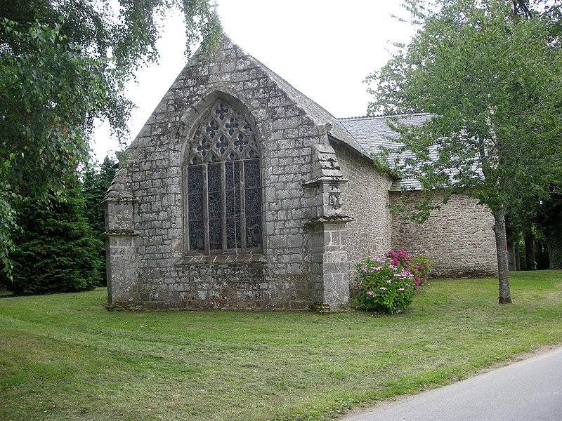 Photo du Monument Historique Chapelle de Locmaria-er-Hoët situé à Landévant