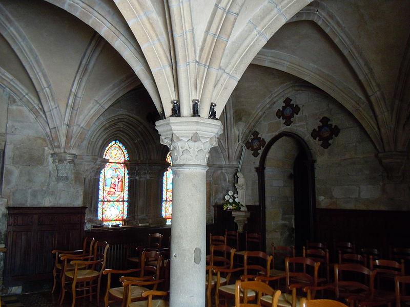 Photo du Monument Historique Ancienne abbaye situé à Langonnet