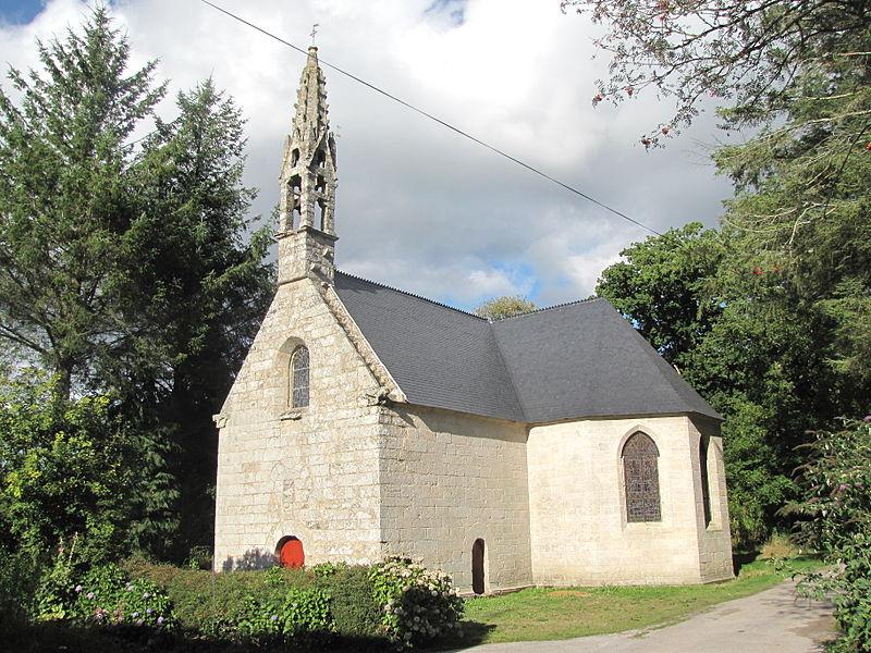 Photo du Monument Historique Chapelle Neuve et sa fontaine situé à Langonnet
