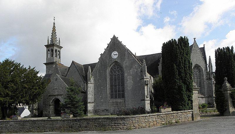 Photo du Monument Historique Eglise de la Trinité situé à Langonnet