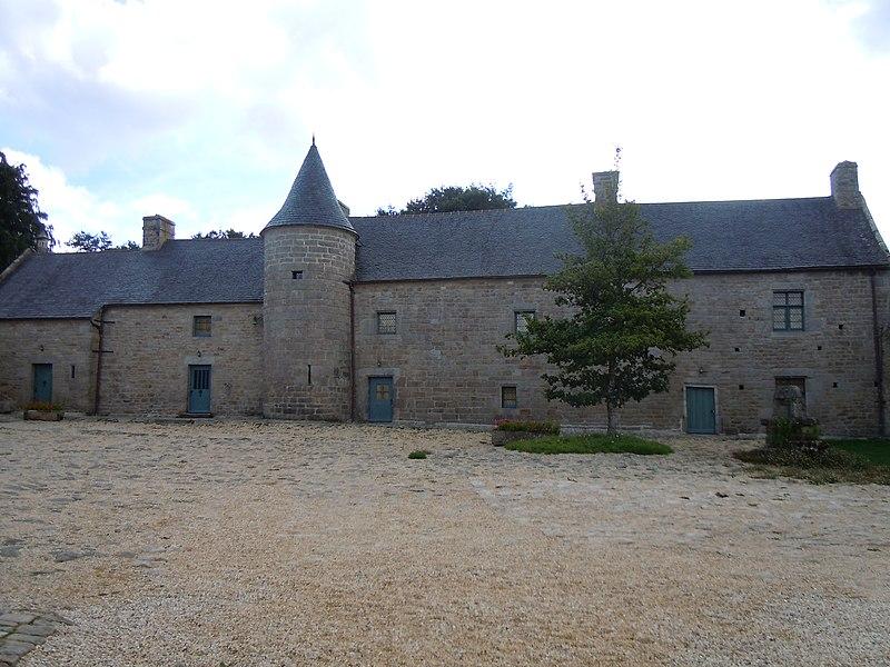 Photo du Monument Historique Manoir de Kermain situé à Langonnet