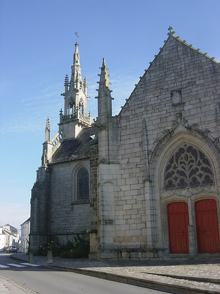 Photo du Monument Historique Chapelle Notre-Dame-des-Fleurs situé à Languidic