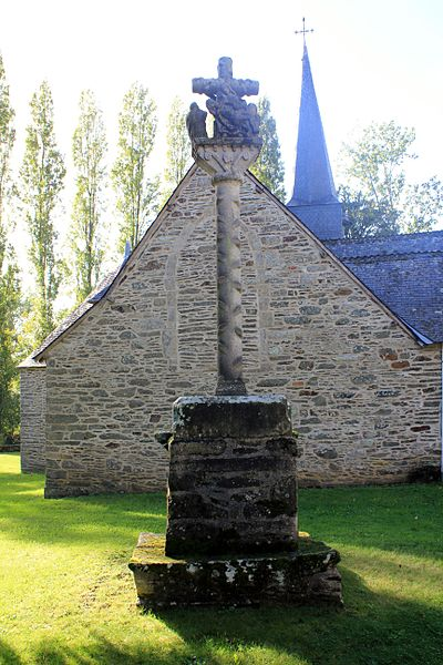 Photo du Monument Historique Calvaire situé à Lanouée