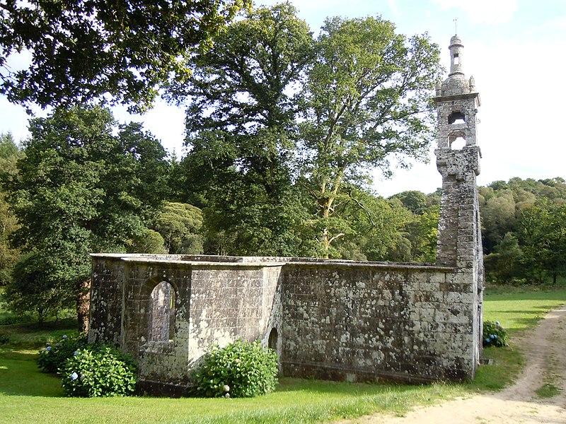 Photo du Monument Historique Chapelle de la Sainte-Trinité situé à Lanvénégen