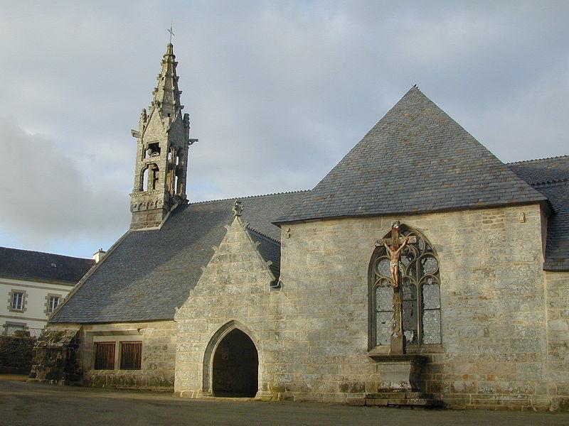 Photo du Monument Historique Eglise Saint-Conogan situé à Lanvénégen