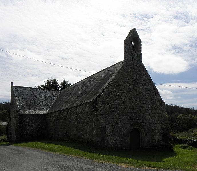 Photo du Monument Historique Chapelle Notre-Dame de Grâce de Kerlenat situé à Locmalo