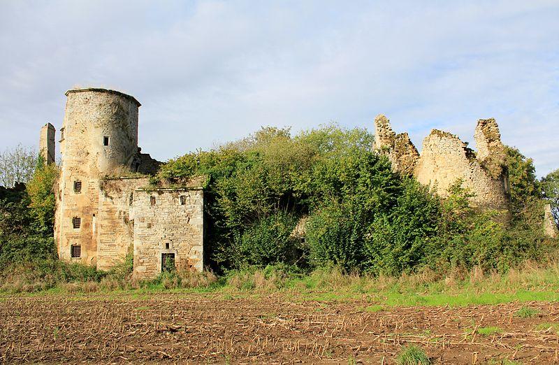 Photo du Monument Historique Château de Coët-Candec situé à Locmaria-Grand-Champ