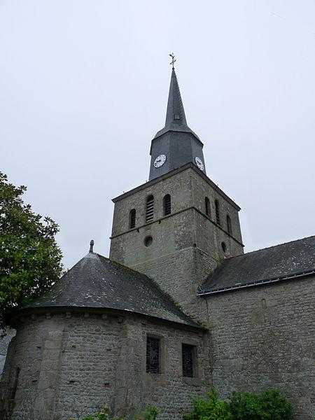 Photo du Monument Historique Eglise Notre-Dame situé à Locmariaquer