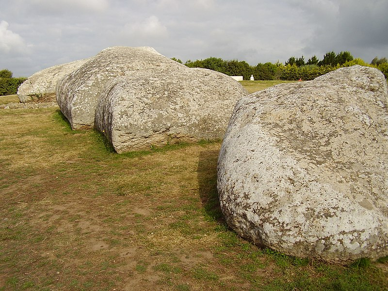 Photo du Monument Historique Grand menhir de Men-er-Grah situé à Locmariaquer