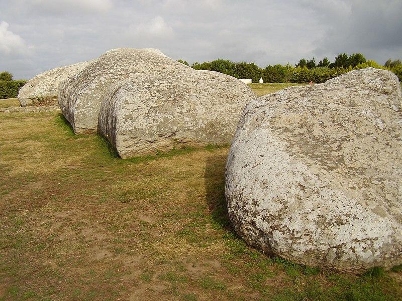 Photo du Monument Historique Grand menhir de Men-er-Grah situé à Locmariaquer