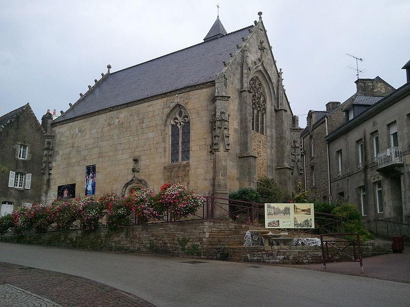 Photo du Monument Historique Chapelle de la Congrégation, ou chapelle Notre-Dame de Plasquer situé à Locminé
