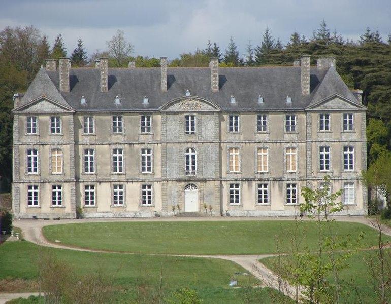 Photo du Monument Historique Château situé à Loyat
