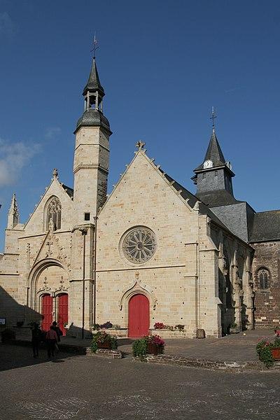Photo du Monument Historique Eglise Saint-Gilles situé à Malestroit