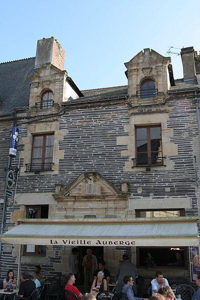 Photo du Monument Historique Maison situé à Malestroit