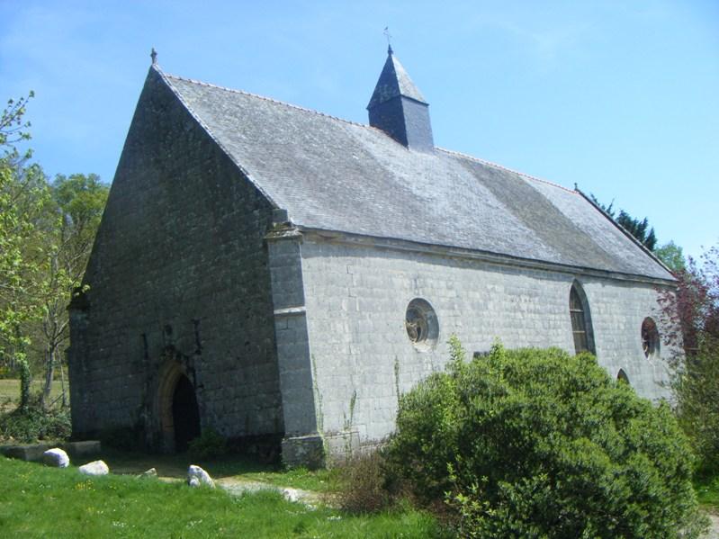 Photo du Monument Historique Chapelle Saint-Fiacre situé à Melrand