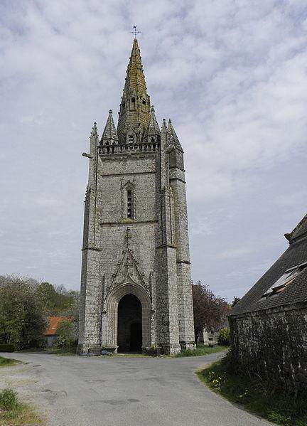 Photo du Monument Historique Chapelle de Locmaria et sa fontaine situé à Melrand