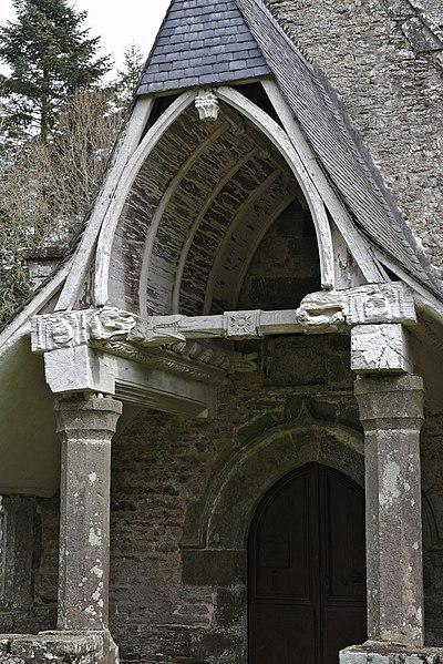 Photo du Monument Historique Chapelle de la Riaye situé à Ménéac