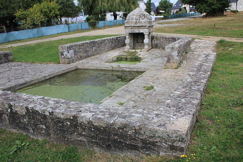 Photo du Monument Historique Fontaine de Kergornet situé à Merlevenez
