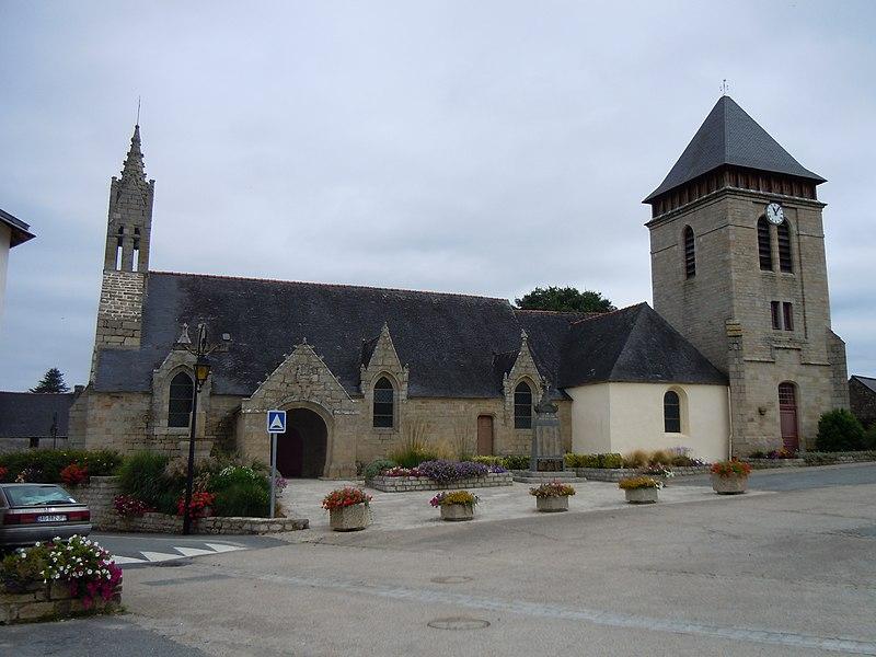 Photo du Monument Historique Eglise Notre-Dame situé à Meslan