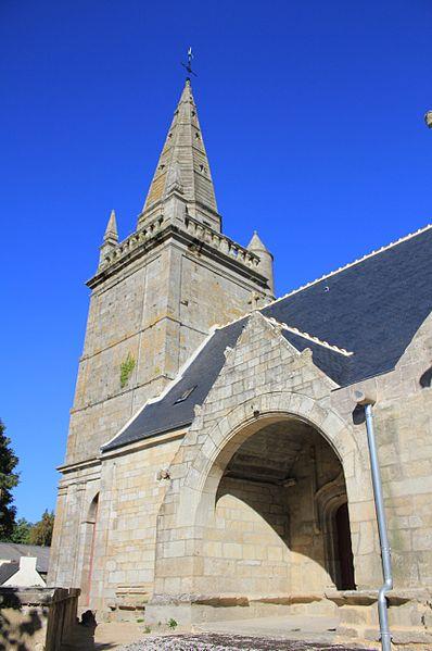 Photo du Monument Historique Eglise Sainte-Barbe situé à Moustoir-Ac