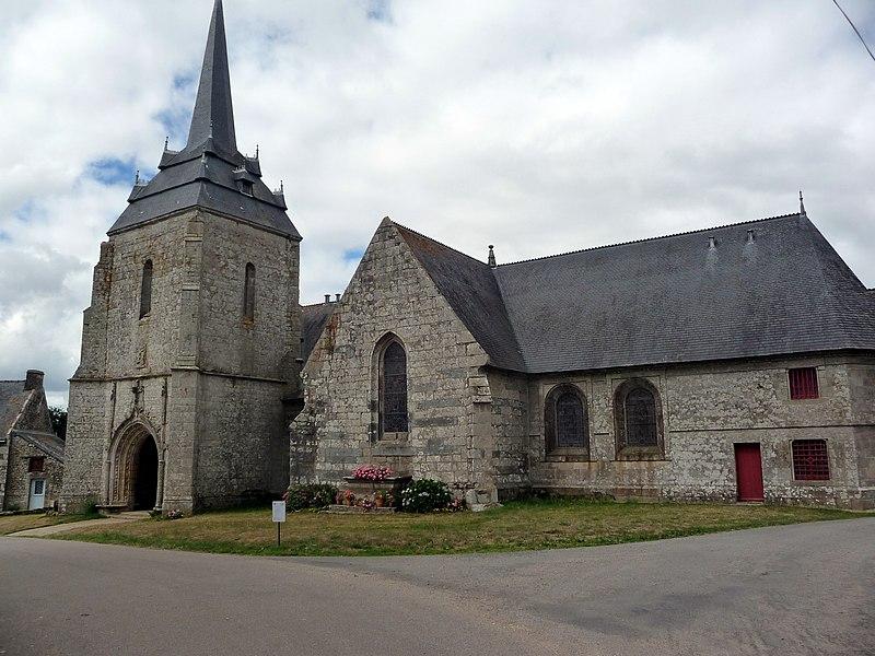 Photo du Monument Historique Chapelle Notre-Dame-de-Carmès et fontaine située à proximité situé à Neulliac
