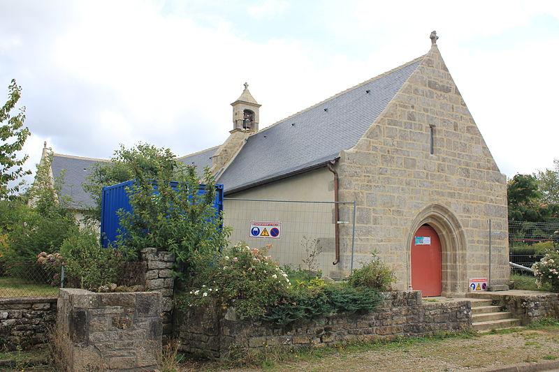 Photo du Monument Historique Chapelle de Locmaria situé à Nostang