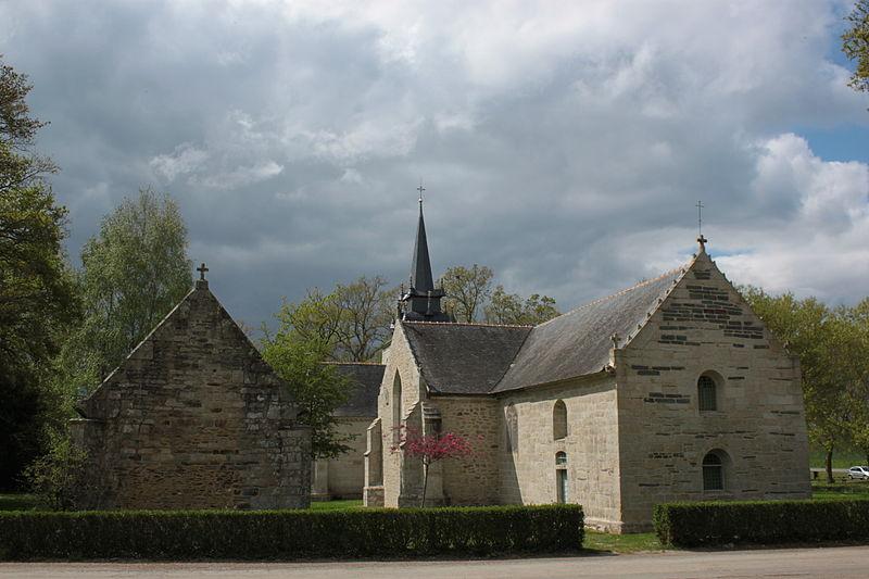 Photo du Monument Historique Chapelle de Sainte-Noyale et abords situé à Noyal-Pontivy