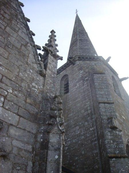 Photo du Monument Historique Eglise Sainte-Noyale situé à Noyal-Pontivy