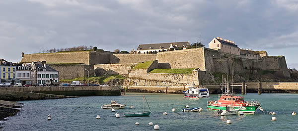 Photo du Monument Historique Citadelle du Palais, à Belle-Ile-en-Mer situé à Palais (Le)