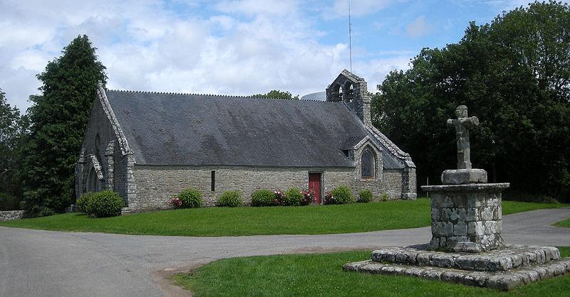 Photo du Monument Historique Chapelle de Locmaria situé à Ploemel